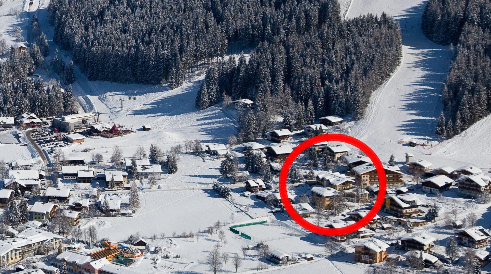 Widok na Hotel Alpina