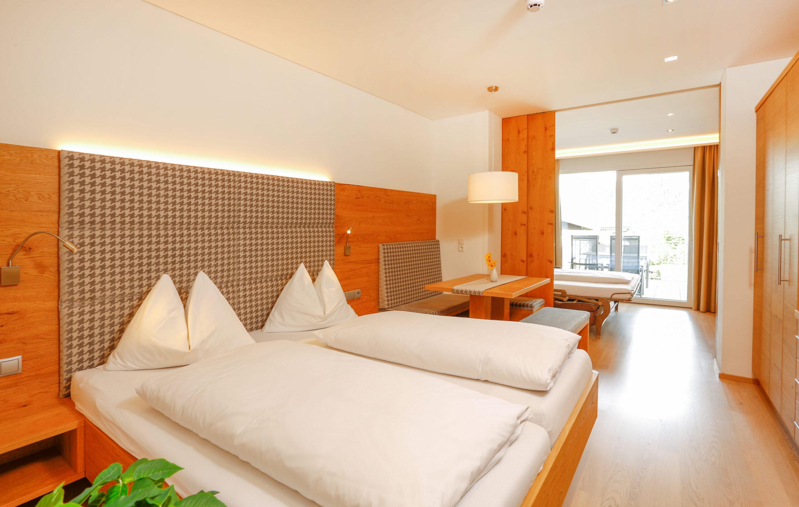 Hotel Alpina - pokoje