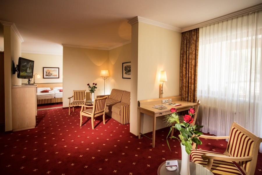 Hotel Sporthotel Royer pokój dwuosobowy