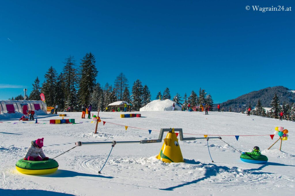 Tubing-Karussell bei Wagrainis Winterwelt