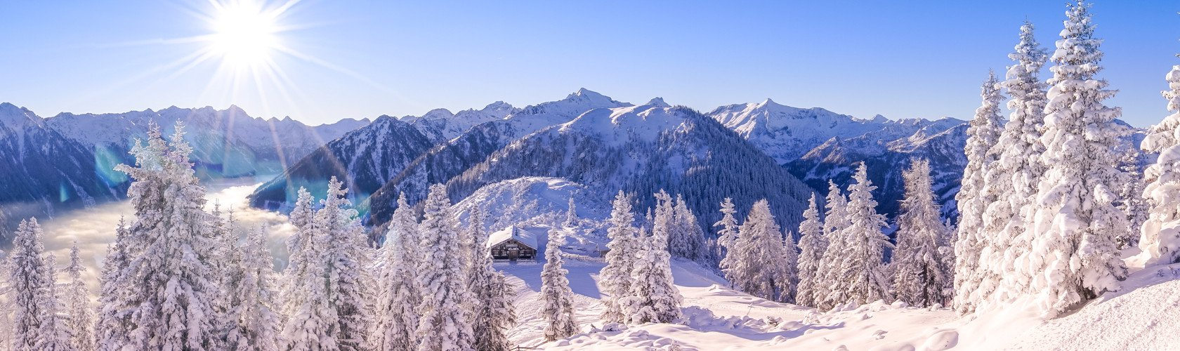 Schladming landscape family skiing