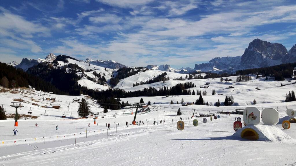 Rodzinne wyjazdy narciarskie Włochy Alpe di Siusi