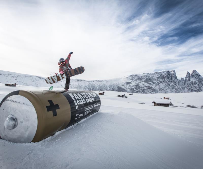 Alpe di Siusi snowpark