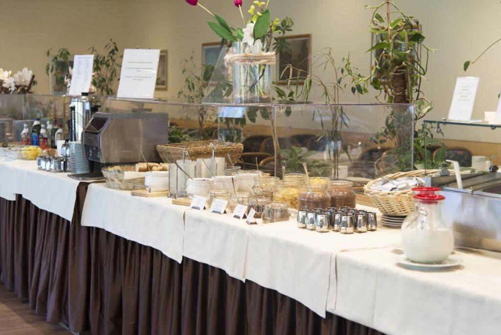 śniadanie Alpenhotel Weitlanbrunn
