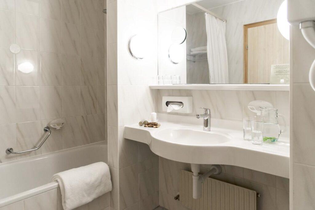 Alpenhotel Weitlanbrunn łazienka