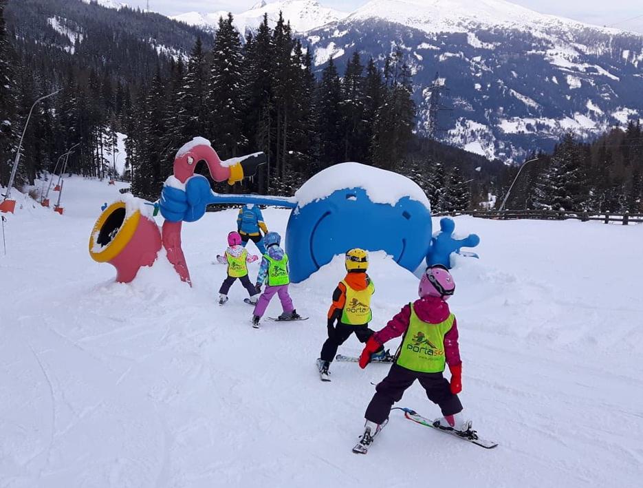 Przedszkole narciarskie Włochy Austria